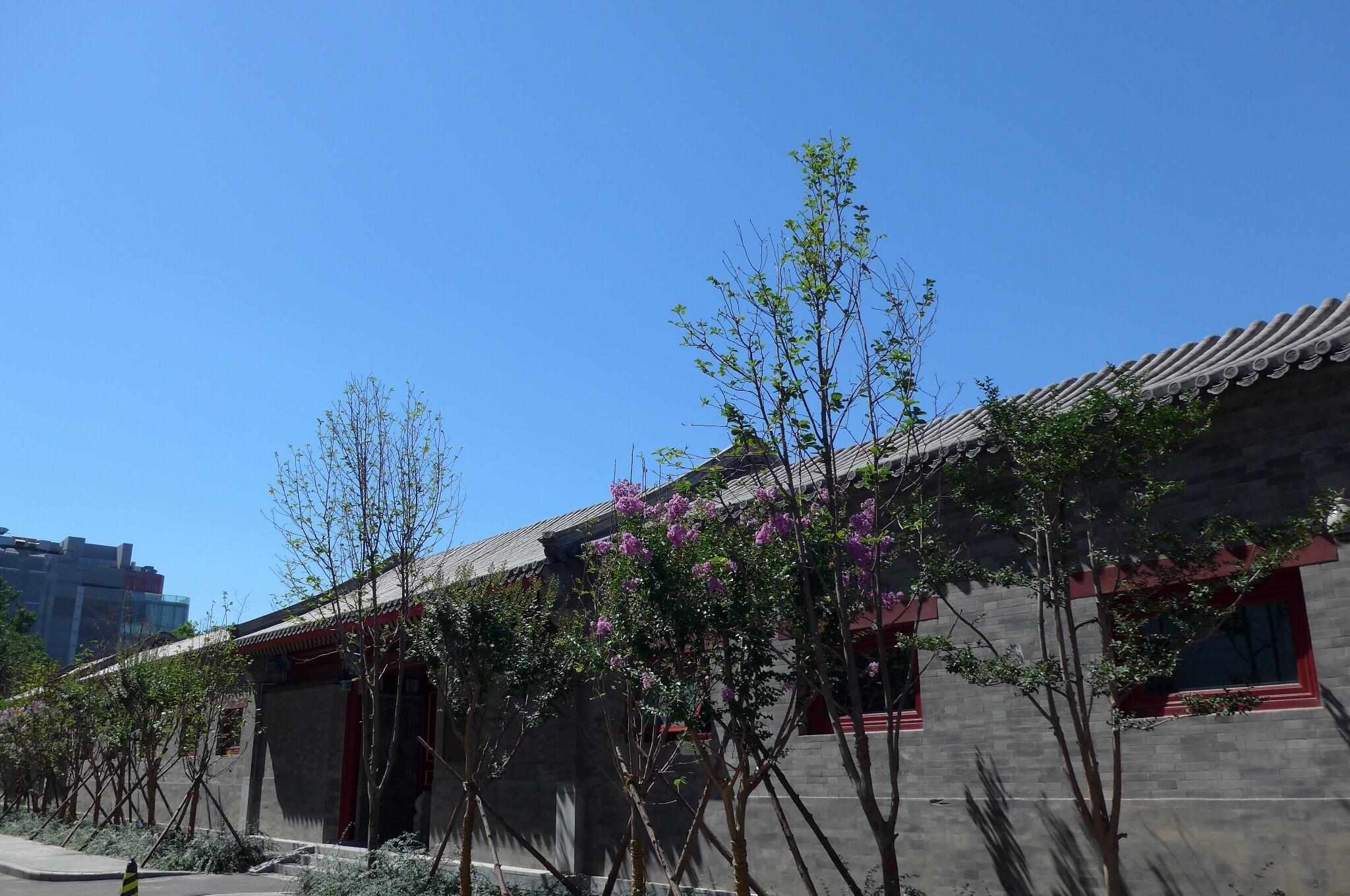 北京の青空
