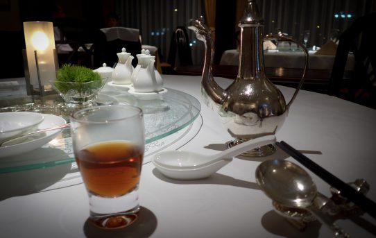 卓上のお月見 中国料理「王朝」中秋の名月コース ヒルトン東京
