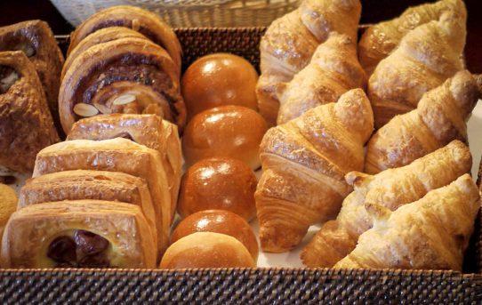パンの味から感じるホテルの品格