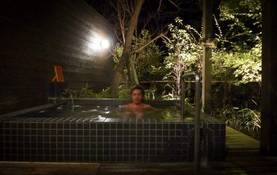 霧島温泉で芋焼酎と黒豚しゃぶしゃぶ