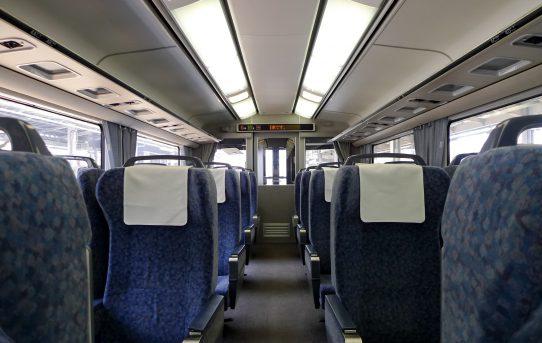 特急列車の旅