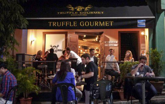 クラブストリートのニューカマー Truffle Gourmet Singapore