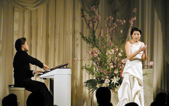 フォーシーズンズホテル椿山荘東京ディナーショーのリハーサル